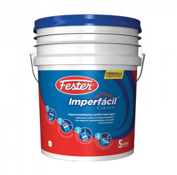 Impermeabilizante blanco 5A 4 litros Fester
